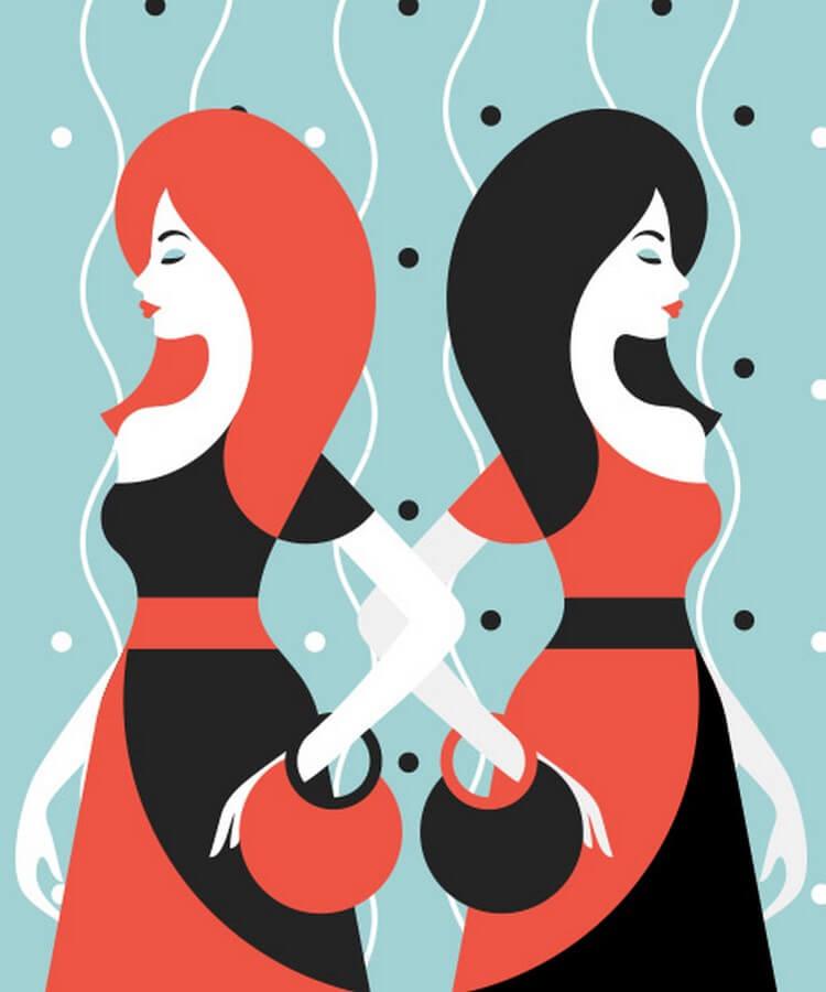 С женщиной-близнецами вас может ждать все что угодно, кроме одного: вы с ней никогда не соскучитесь!